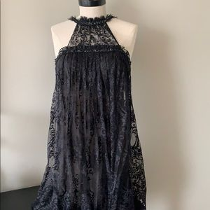 BCBG black cocktail dress - Size 2